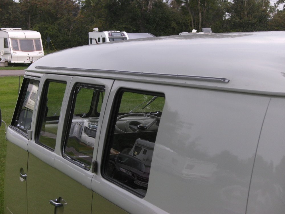 ... Awning Rail Channel VW T1 Splitscreen & Khyam Sun Canopy - Camper Essentials
