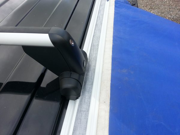 VW T5 Bolted Awning Rail VW Logo Roof Rack