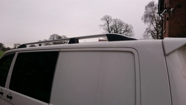 VW T5 Bolt On Awning Rail Roof Rail Spacer System