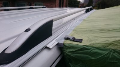 Vw T5 Bolt On Awning Rail Roof Rail Spacer System Option 3