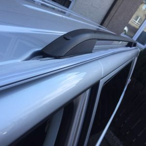 VW T5 Bolt On Awning Rail Roof Rail Spacer System Option 2