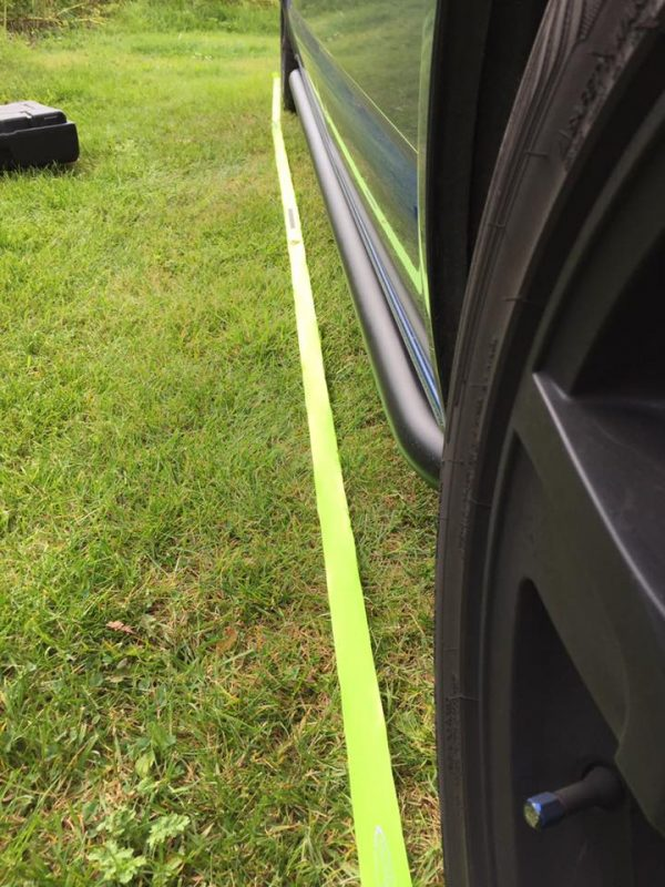 Driveaway Runway Lining Up Strip
