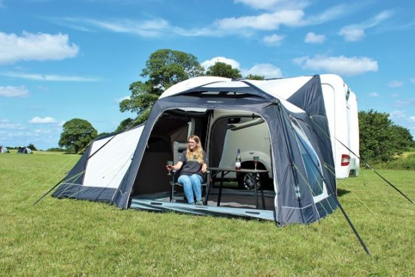 2017 Outdoor Revolution MoveAirLite Classic Awning with annex