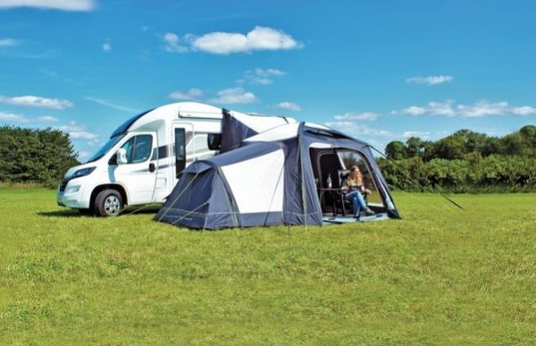 2017 Outdoor Revolution MoveAirLite Classic Awning optional annex