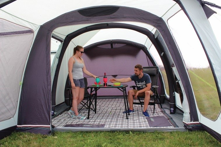 2017 Outdoor Revolution Movelite T4 Lowline Airbeam Driveaway Awning Inside