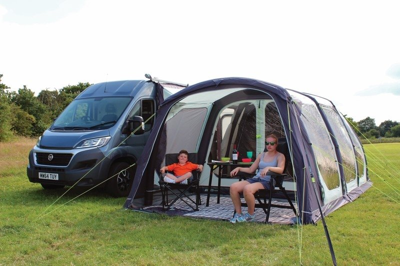 2017 Outdoor Revolution Movelite T5 Kombi Flex Driveaway Air Awning Flexible Awning