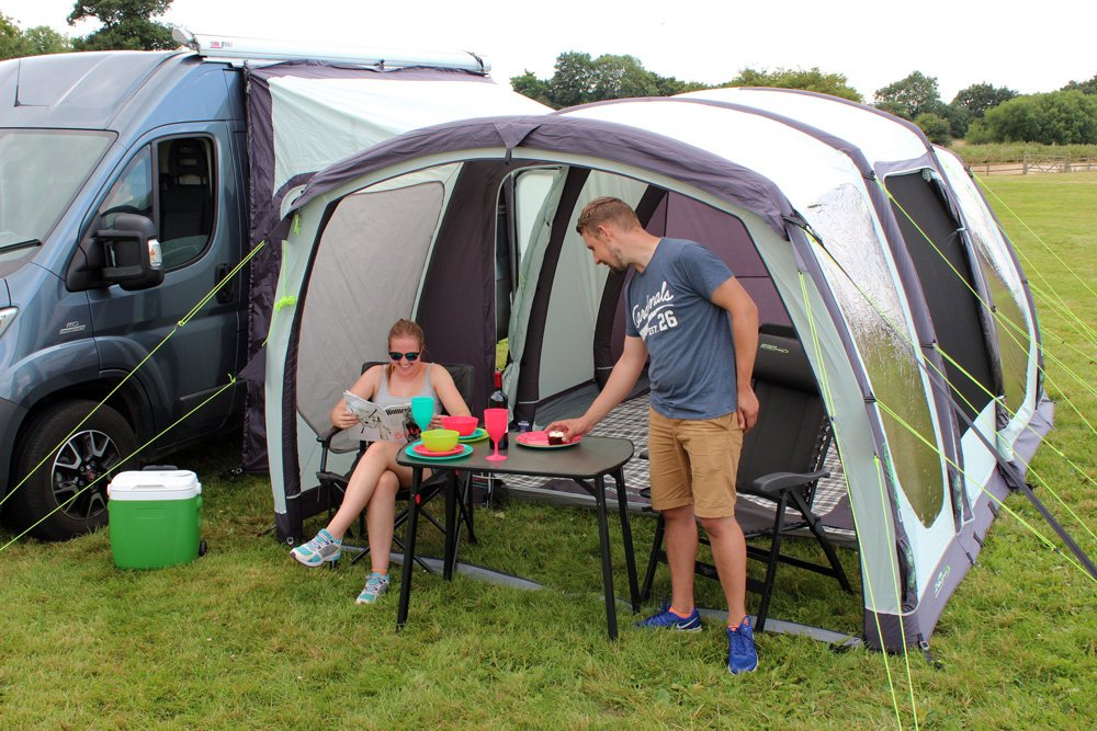 2018 Outdoor Revolution Movelite T4 Airbeam Driveaway Awning