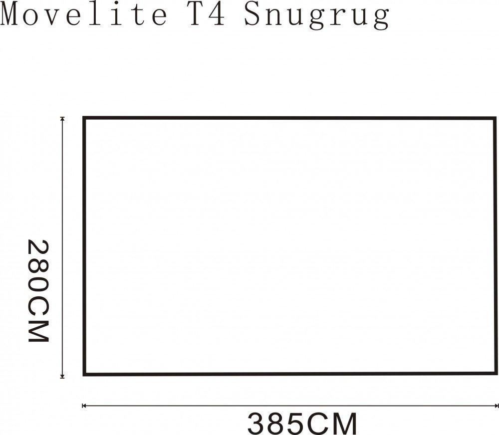 2018 Outdoor Revolution Movelite T4 Highline Airbeam Driveaway Awning Snugrug