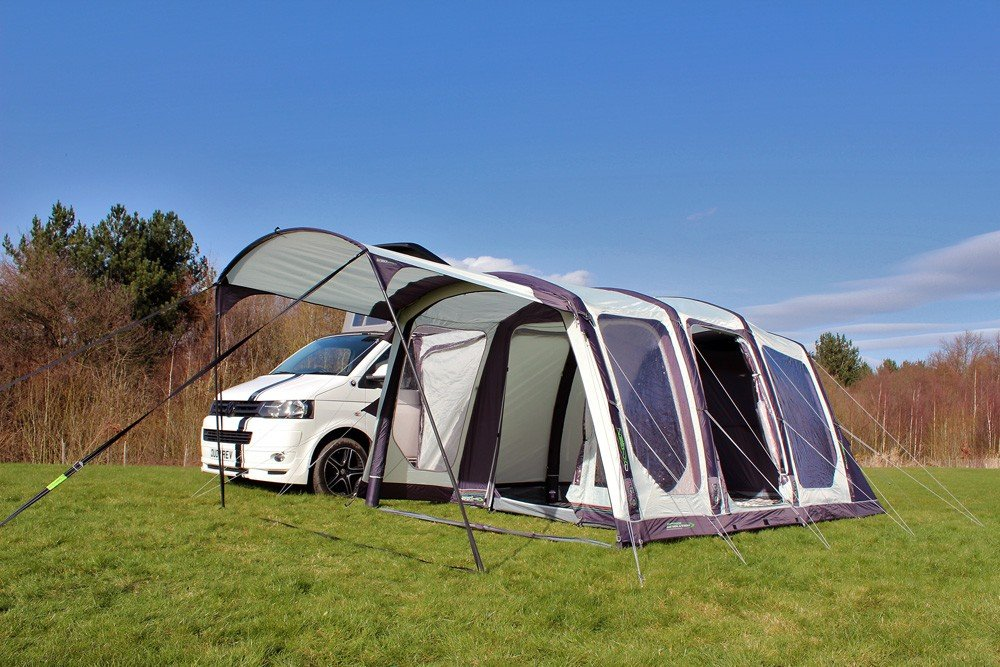 2018 Outdoor Revolution Movelite T4 Highline Airbeam Driveaway Awning with Canopy