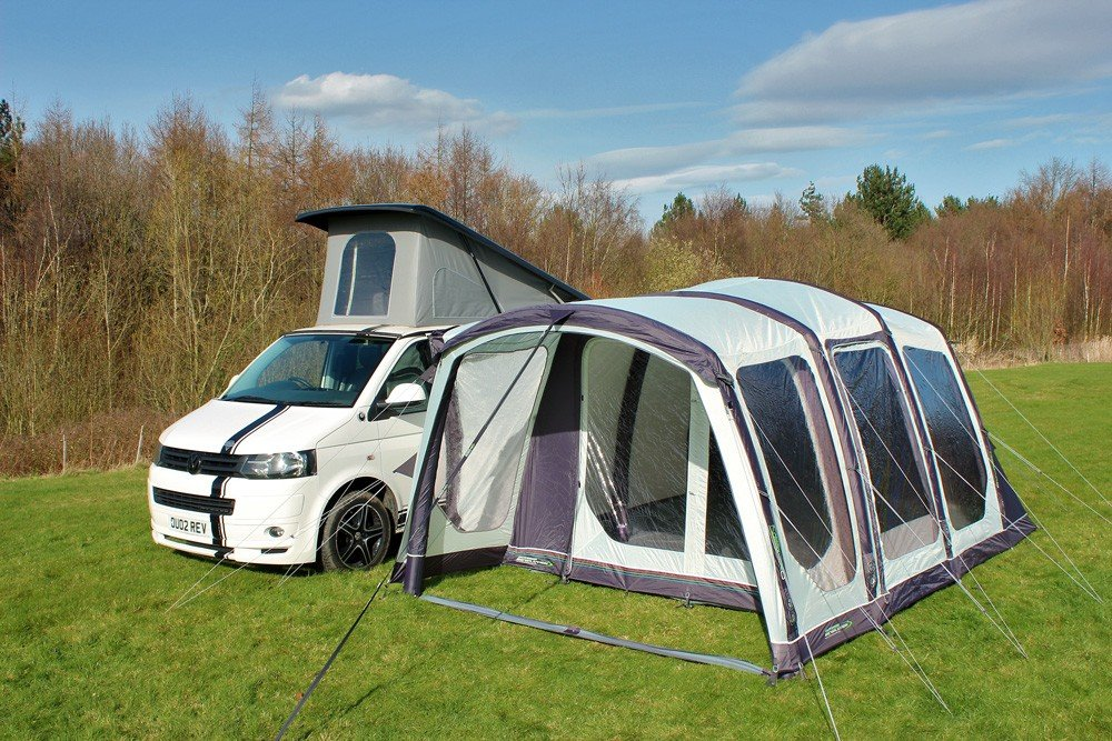 2018 Outdoor Revolution Movelite T4 Lowline Airbeam Driveaway Awning with Inner Tent