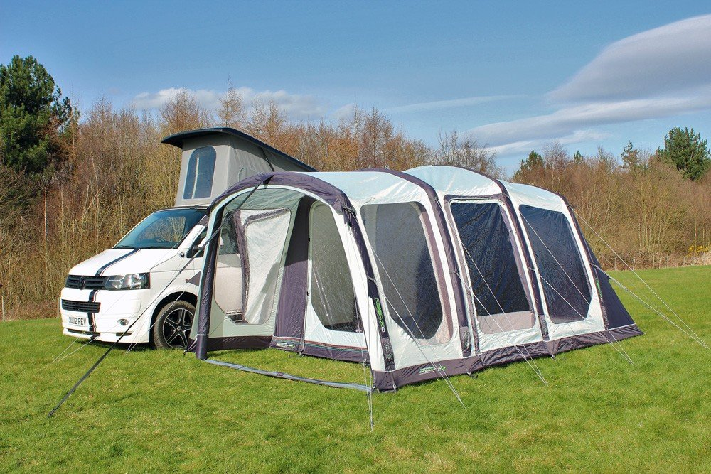 2018 Outdoor Revolution Movelite T4 Highline Airbeam Driveaway Awning with Porch area