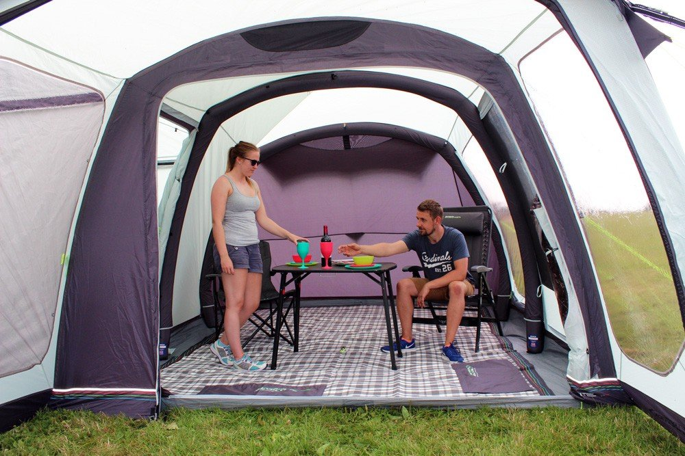 2018 Outdoor Revolution Movelite T4 Lowline Airbeam Driveaway Awning with carpet