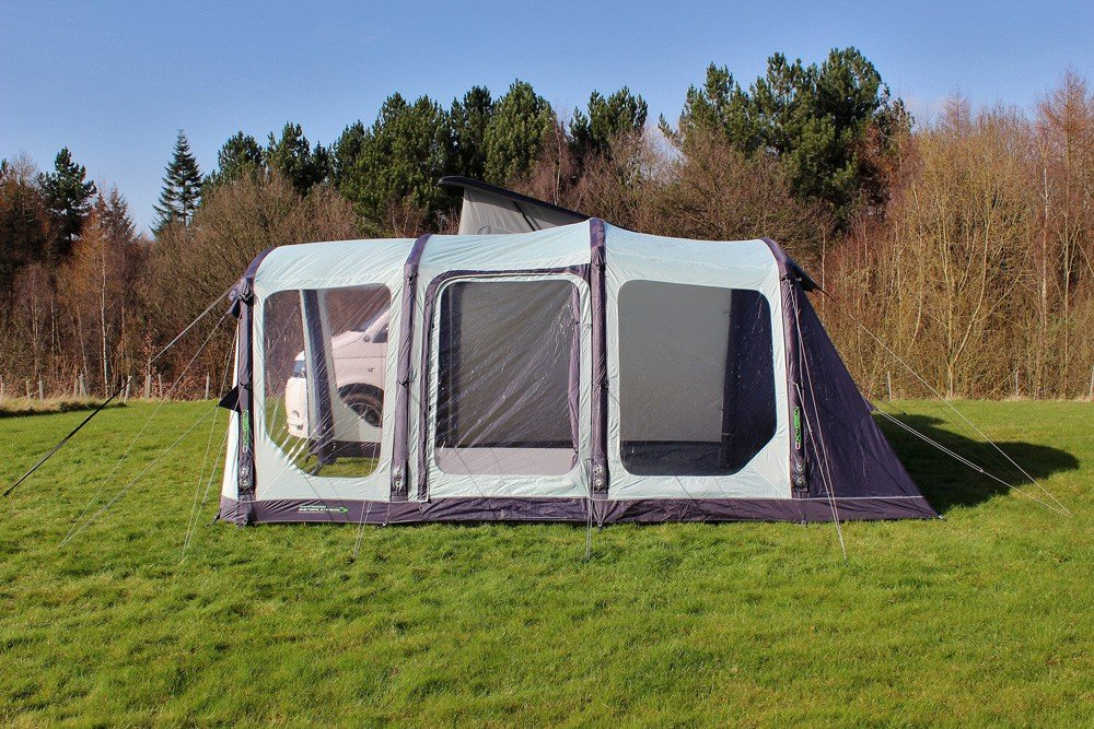 2018 Outdoor Revolution Movelite T4 Lowline Airbeam Driveaway Awning with windows