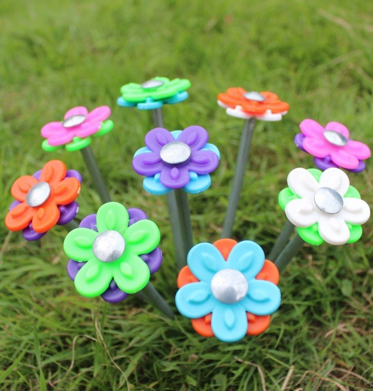 Outdoor Revolution Fun Daisy Rock Pegs