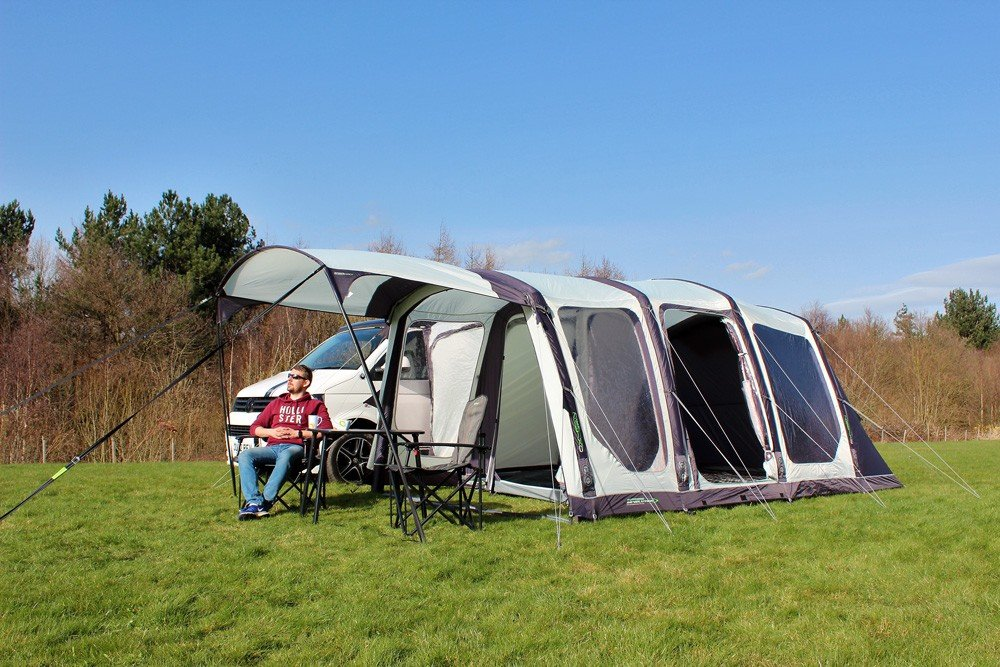Outdoor Revolution Movelite T4 Lowline Airbeam Driveaway Awning with Canopy 2018