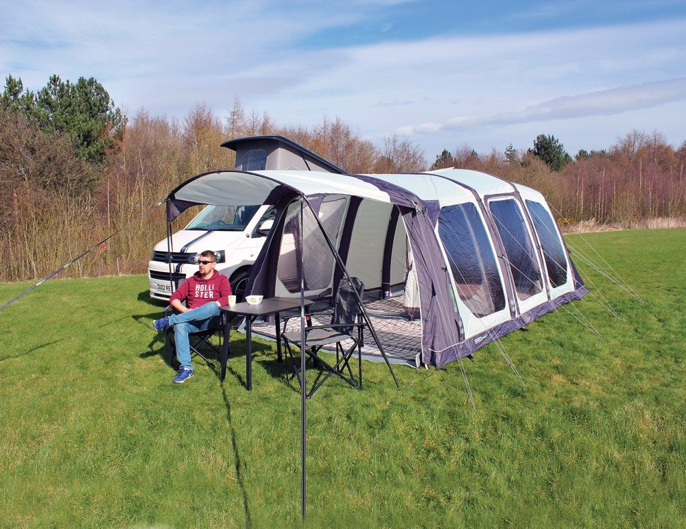 2018 Outdoor Revolution Movelite T5 Kombi Flex Driveaway Air Awning