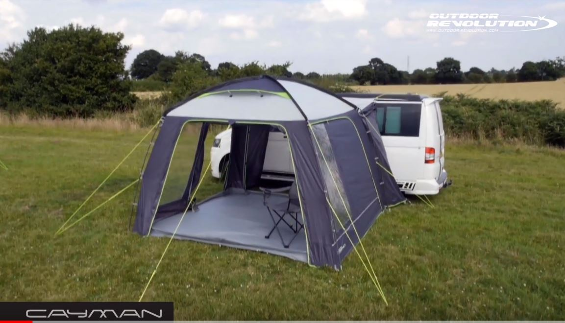 Outdoor Revolution Movelite Cayman Driveaway Awning 2018
