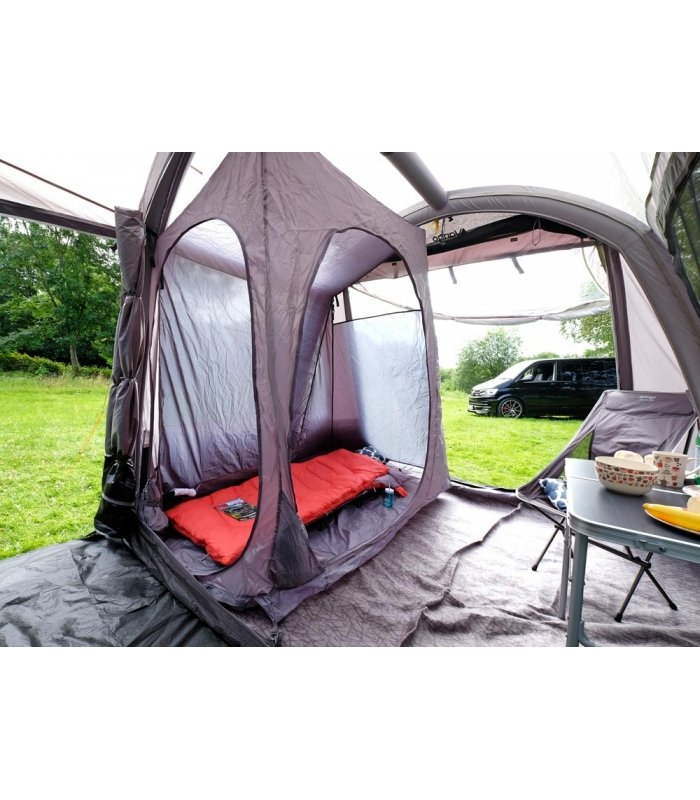 Vango Airbeam Kela IV Low Driveaway Awning 2018 with 2 berth Inner tent
