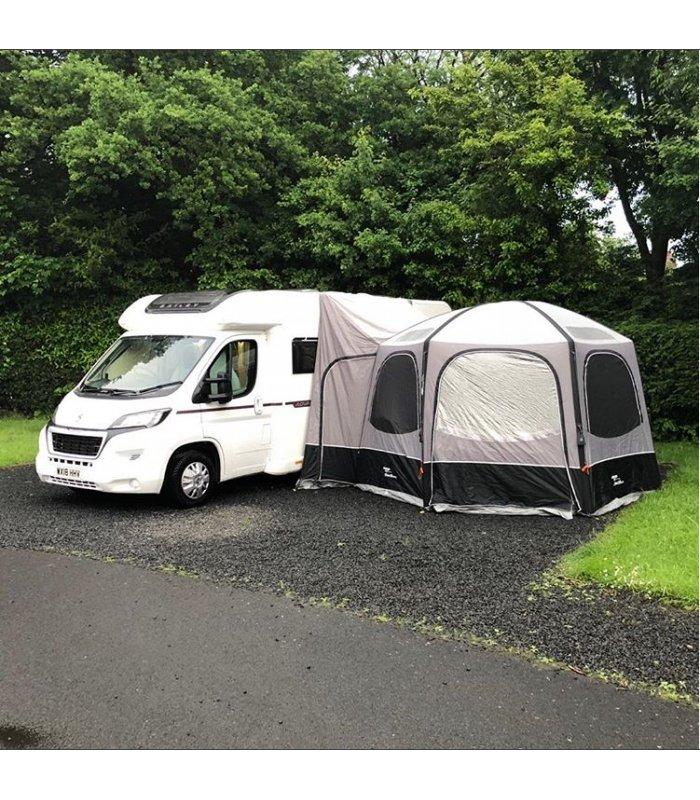 Vango Airhub Hexaway Hex Tall Driveaway Awning camper