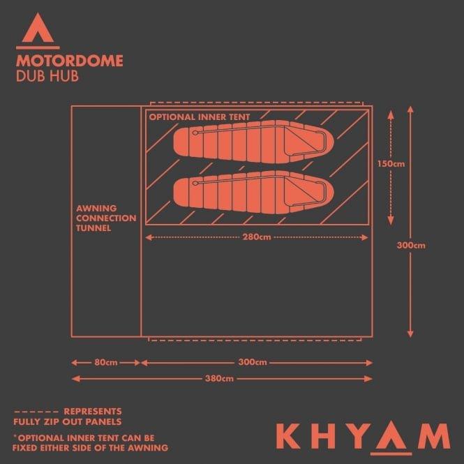 Khyam Motordome Dub Hub 2018