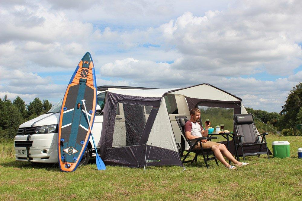 2018 Outdoor Revolution Techline Canopi Lowline Sun Canopy used