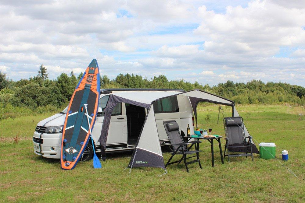 2018 Outdoor Revolution Techline Canopi Lowline Sun Canopy