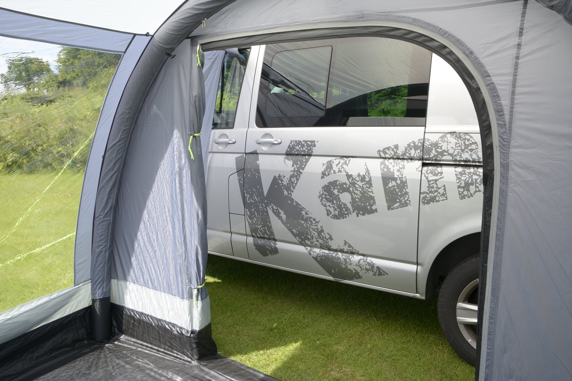 Kampa Travel Pod Action AIR VW Driveaway Awning inside