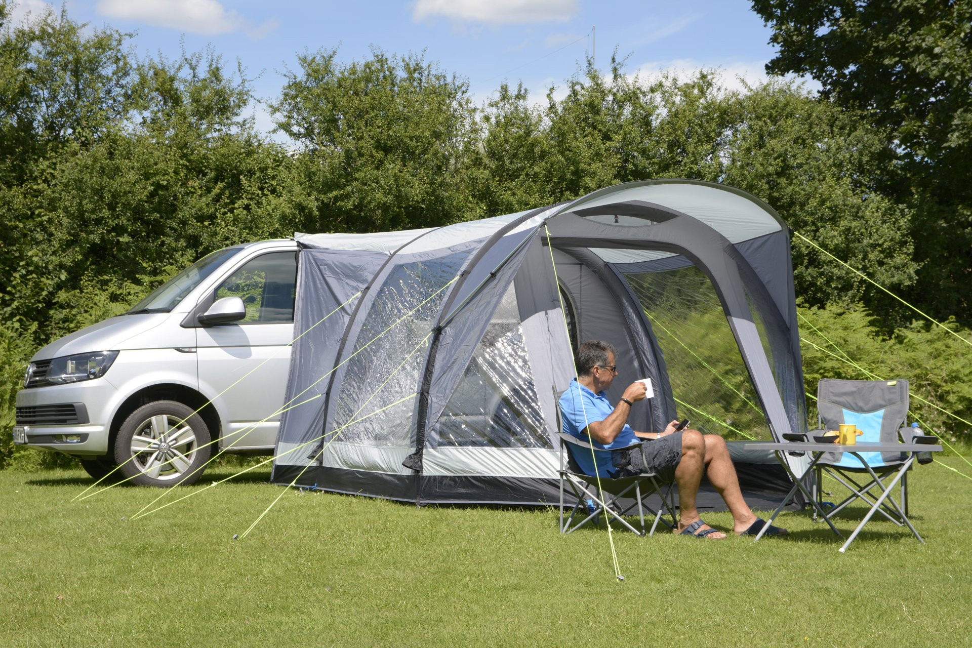 Kampa Travel Pod Action AIR VW Driveaway Awning overview
