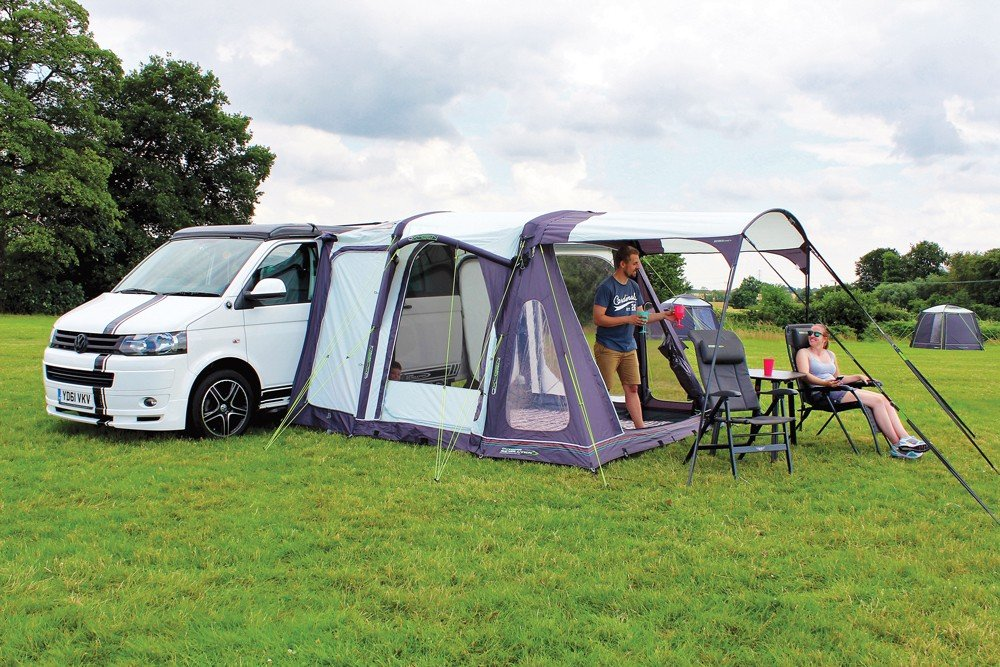 Movelite Sun Canopy on a T2 Driveaway Awning