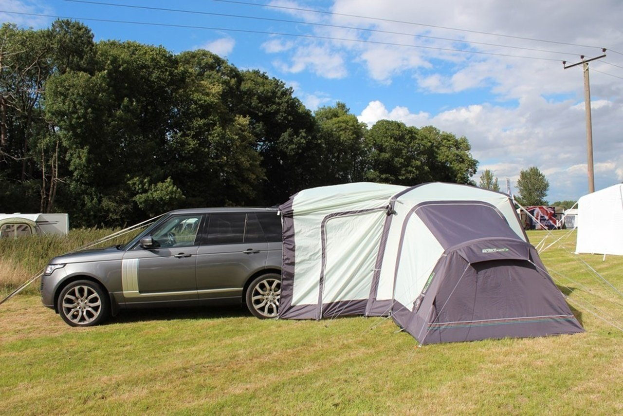 2018 Outdoor Revolution Movelite T1 Tailgate Airbeam Driveaway Awning Annexe