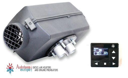 VW T5/T6 Genuine Autoterm Planar 2Kw Diesel Air Heater Kit