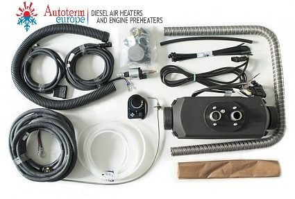 VW T5/T6 Genuine Autoterm Planar 2Kw Diesel Air Heater Kit