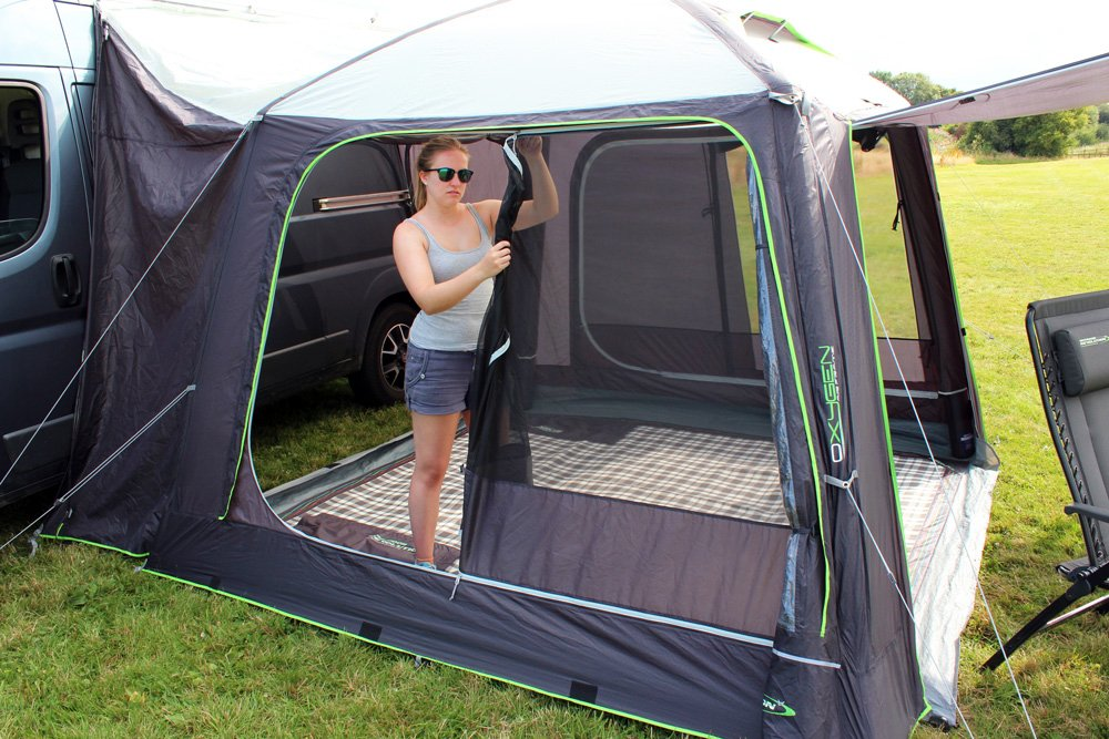 Outdoor Revolution Movelite Cayman Air Driveaway Awning 2018 flymesh