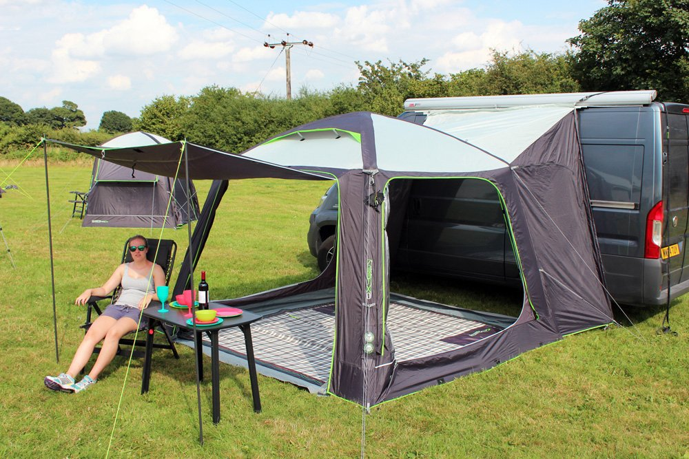 Outdoor Revolution Movelite Cayman Air Driveaway Awning 2018 Gazebo style