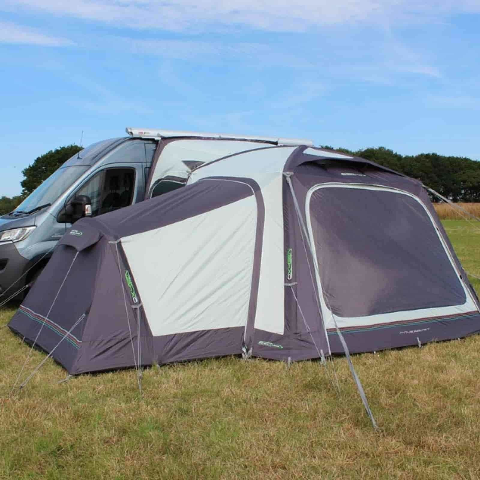 2018 Outdoor Revolution Movelite T1 Airbeam Driveaway Awning Annexe
