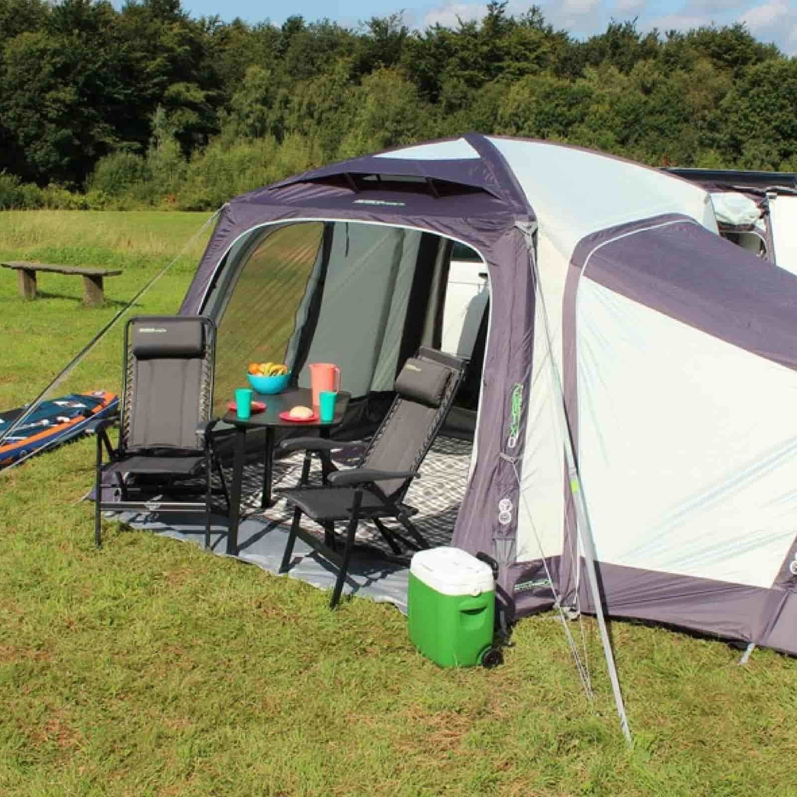 2018 Outdoor Revolution Movelite T1 Airbeam Driveaway Awning with Optional Annexe