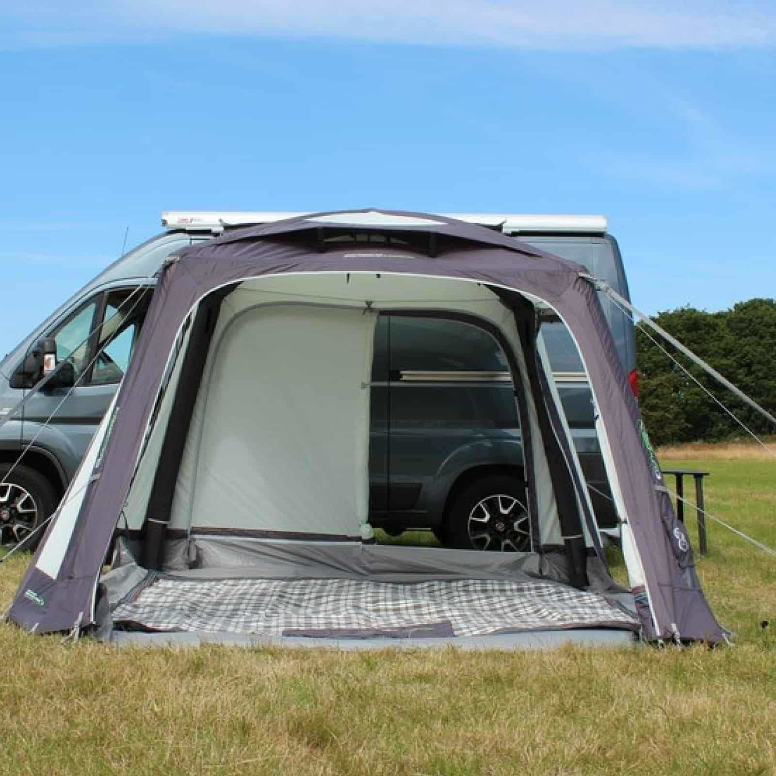 2018 Outdoor Revolution Movelite T1 Airbeam Driveaway Awning on Tall Campervan