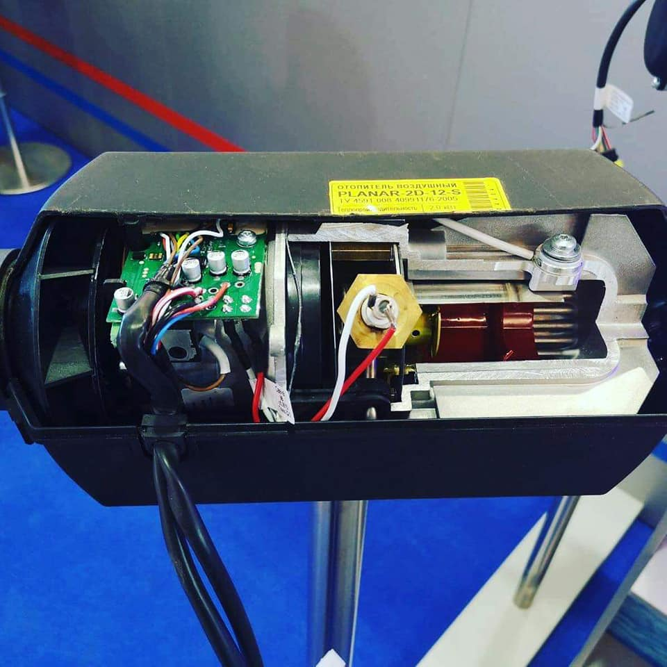 VW T5/T6 Genuine Autoterm Planar 2Kw Diesel Air Heater Install