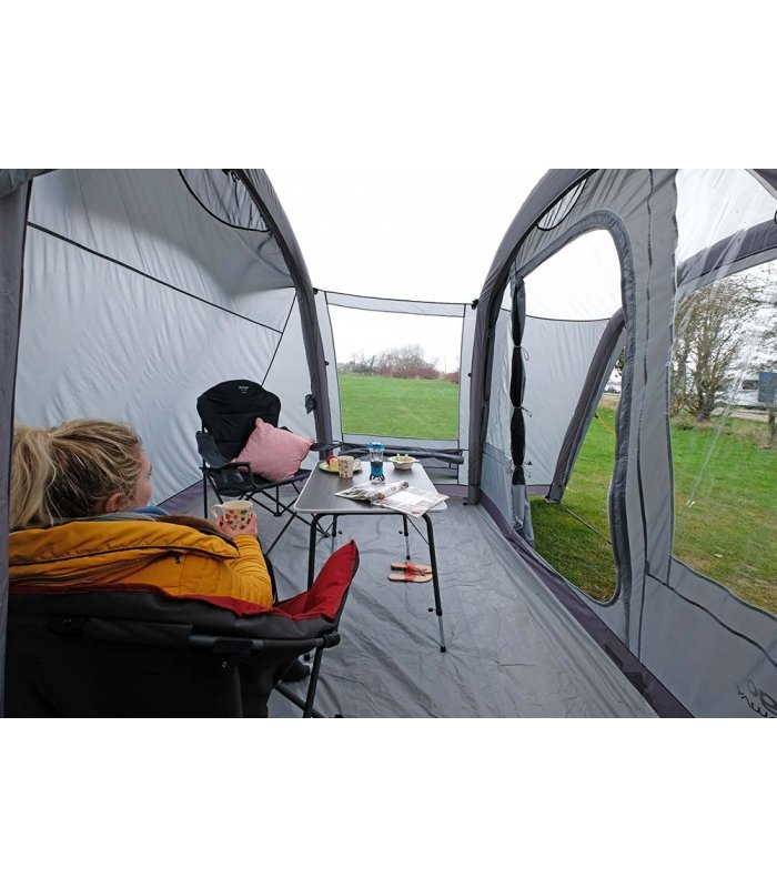 Vango Airbeam Cove Low Driveaway Awning inside