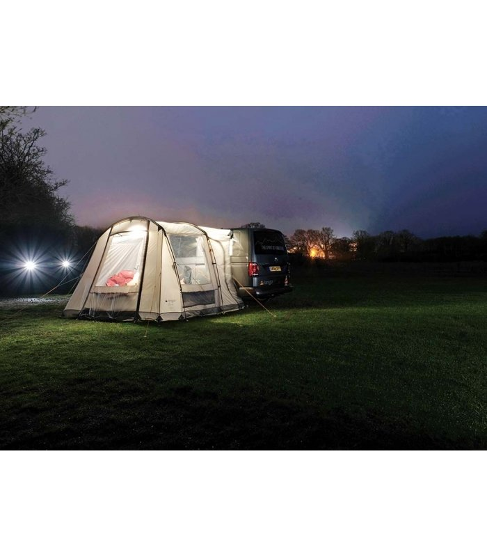 Vango Faros Tall Driveaway Awning night