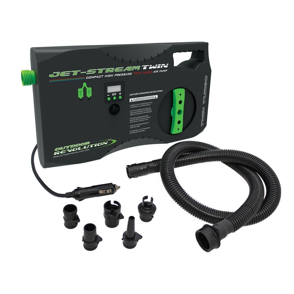 Outdoor Revolution Jet Stream Electric Twin Pump