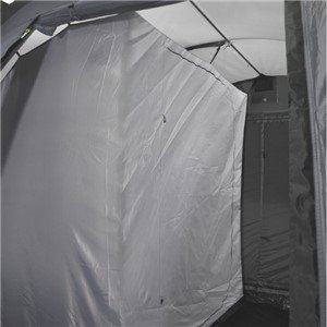 One 2-berth inner for Country Road which can be placed in both the right and left side of the tent. The inner tent has mesh pockets for storage and is made of breathable polyester with a large D-door with full mesh panel and comes with sewn-in groundsheet.