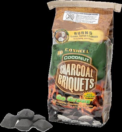 Cobb Coshell Coconut Charcoal Briquettes