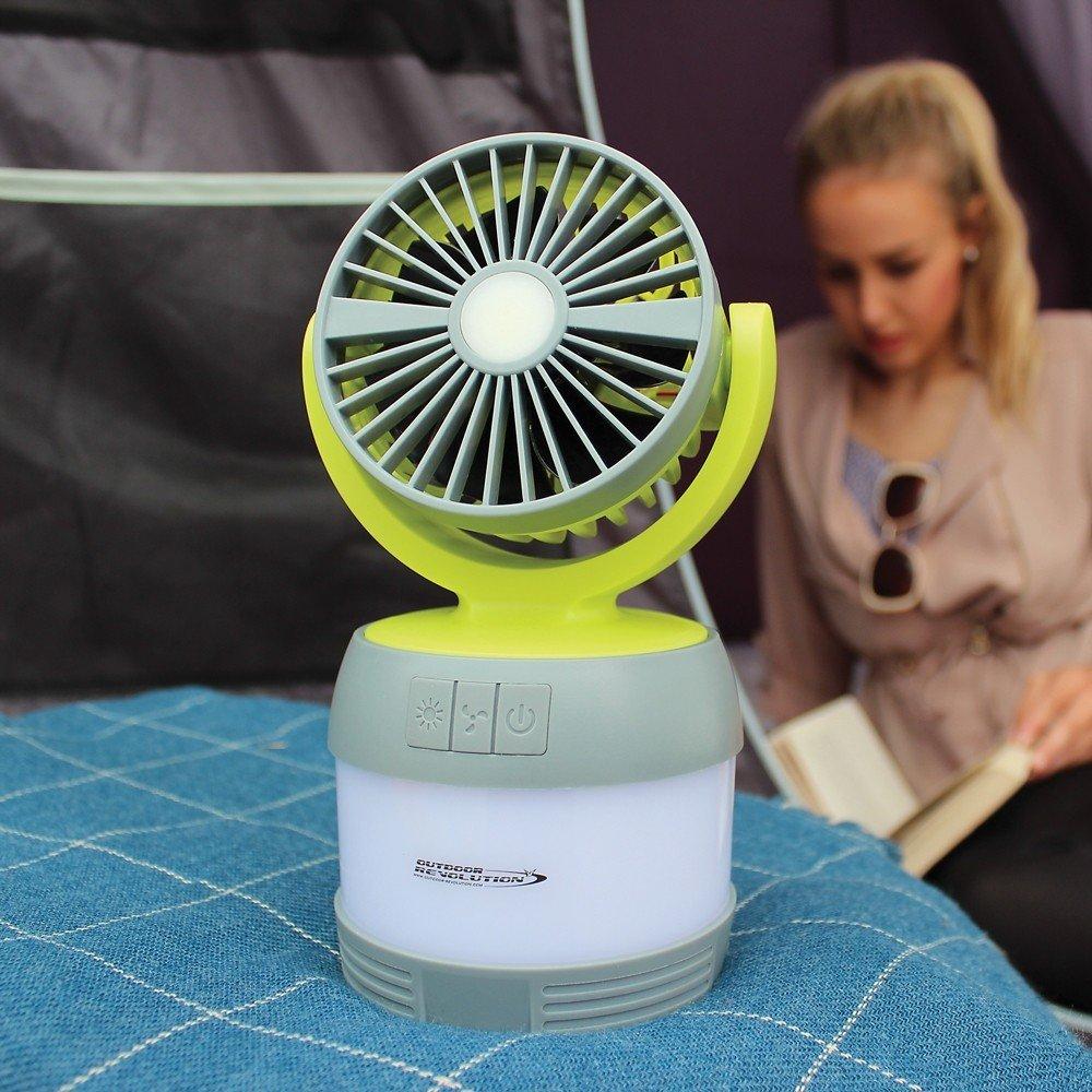 Outdoor Revolution 3 In 1 Lumi Fan Lantern