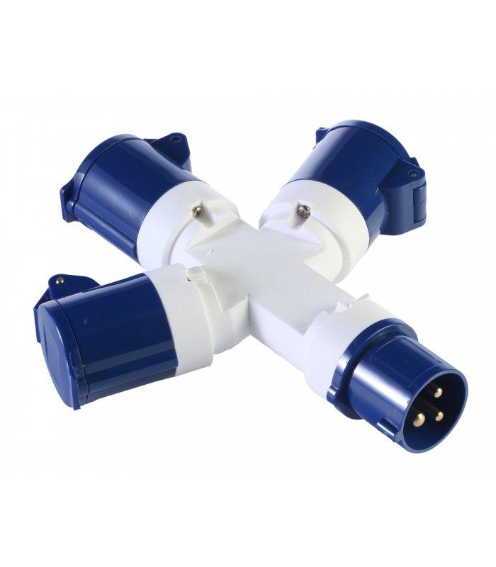Vango Voltaic 3 Way Distribution Adaptor