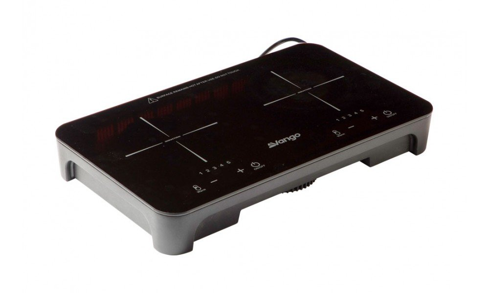 Vango Sizzle Double Induction Hob