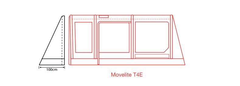 Outdoor Revolution Movelite PC Porch Door