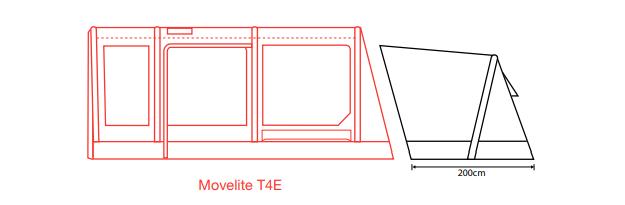 Outdoor Revolution Movelite PC Annexe