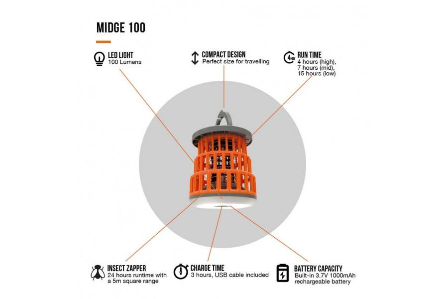 Vango Midge 100 Features